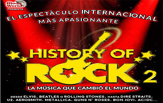 Imagen descriptiva del evento: History of Rock 2