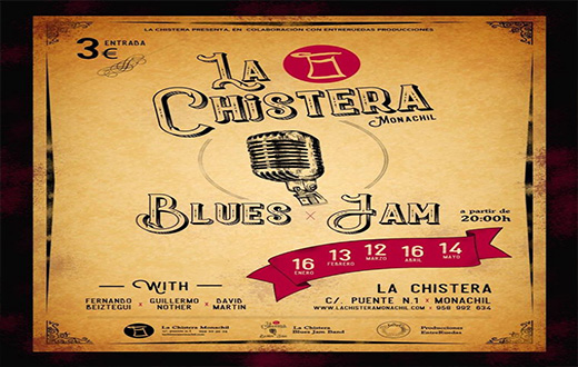 Imagen descriptiva del evento La Chistera: Jam Session Blues