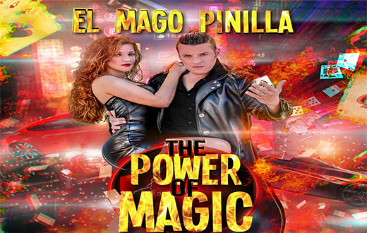 Imagen descriptiva del evento 'El Mago Pinilla: The Power of Magic'
