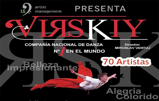 Imagen descriptiva del evento Danza Virsky National Ensemble