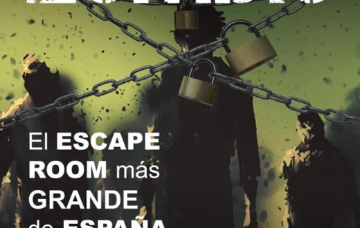 Imagen descriptiva del evento Escape room zombie en Armilla